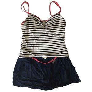 Nautica 2 piece bathing suit